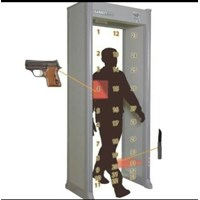Mesin X-Ray security Pintu Metal Detektor Garret Pd-6500i / Walktrough Metal Detector