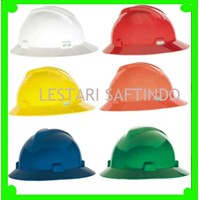Helm Safety HELM SAFETY MSA FULLBRIM ORI