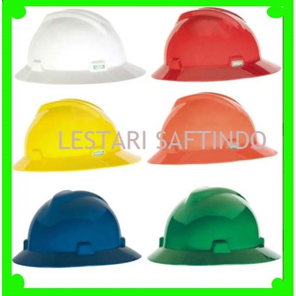 HELM SAFETY MSA FULLBRIM ORI