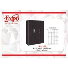 Wardrobe Lemari Pakaian 3 Pintu LP-1208