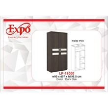 Wardrobe Lemari Pakaian 2 Pintu LP-12000