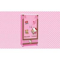 Jual Wardrobe Lemari  Pakaian Anak Karakter Hello Kitty Best Friend WD HK 1601 BF