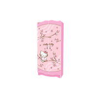 Jual Wardrobe Lemari  Pakaian Anak Karakter Hello Kitty Magnolia WD KT 2180 ML