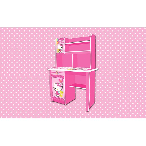 Jual Meja Belajar Anak Karakter Hello Kitty Non Series Sdh K