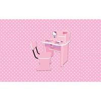 Jual Meja Belajar Anak Karakter Hello Kitty Non Series SDH K 9002