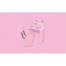 Meja Belajar Anak Karakter Hello Kitty Non Series SDH K 9002