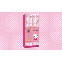 Jual Wardrobe Lemari Pakaian Anak Karakter Hello Kitty Smile Heart WD HK 1802 SH