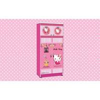 Jual Wardrobe Lemari Pakaian Anak Karakter Hello Kitty Smile Heart WD HK 1801 SH