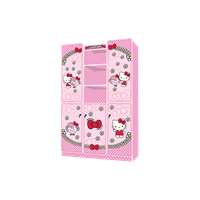 Jual Wardrobe Lemari Pakain Anak Karakter Hello Kitty Little Miss Hugh WD KT 3180 LMH