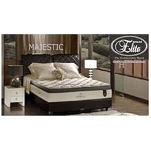 Elite Spring Bed Medium Majestic (latex pillow) 120 Full Set