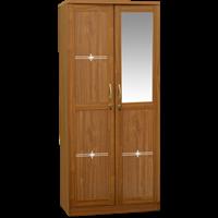 Jual Lemari Pakaian 2 Pintu Cermin LPC 7251