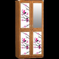 Jual Lemari Pakaian 2 Pintu Cermin LPC 7252 S