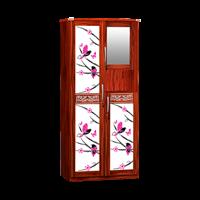 Jual Lemari Pakaian 2 Pintu Cermin LPC 7253 S
