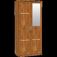 Jual Lemari Pakaian 2 Pintu Cermin LPC 8230 AP