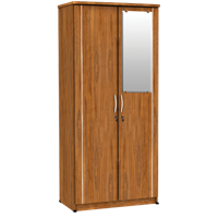 Jual Lemari Pakaian 2 Pintu Cermin LPC 8210 AP