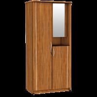 Jual Lemari Pakaian 2 Pintu Cermin LPC 8211 AP