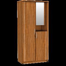 Lemari Pakaian 2 Pintu Cermin LPC 8211 AP