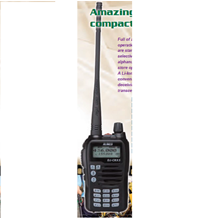 Dualband Handheld Transceiver Alinco VHF/UHF FM DJ-CRX5