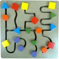 Maze Tombol Geo