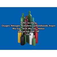 Isi Ulang Tabung Gas Argon Dan Gas Industri Lainnya  [JAKARTA BARAT] 1