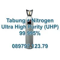 Tabung Gas Nitrogen Uhp (Ultra Tinggi Kemurnian) 99.9995%