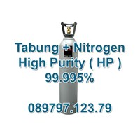 Tabung Gas Nitrogen Hp (Tinggi Kemurnian) 99.995%
