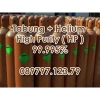 Tabung + Gas Helium Kemurnian Tinggi (Hp) 99.9995%