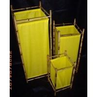 Jual Lamp Chinoise Bamboo Yellow