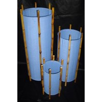 Jual Lamp Chinoise Bamboo Blue