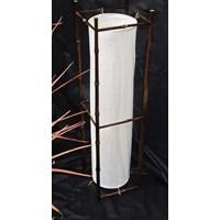 Jual Lamp Round Black Frame