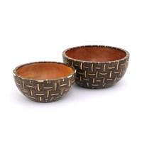 Wooden Inlay Bowl