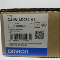 Analog Input Unit OMRON CJ1W-AD081-V1 1