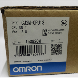 Programmable Logic Controller (PLC)  OMRON CJ2M-CPU13