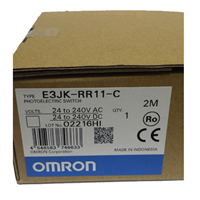 Built-in Supply Photoelectric Sensor With Brackets And Reflectors OMRON E3JK-RR11-C