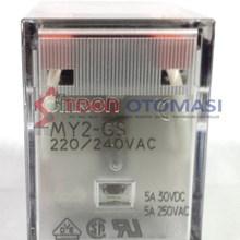 Relay Omron MY2-GS AC220/240 BY (Aksesoris Listrik)