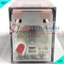Relay Omron MY4N-GS AC220/240 (Aksesoris Listrik)