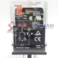 Relay Omron MKS2P AC220 (Aksesoris Listrik)