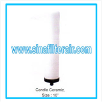 Jual Filter Cartridge Candle Ceramic size 10″