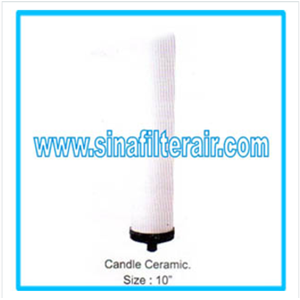 Filter Cartridge Candle Ceramic size 10″