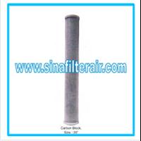 Filter Catridge Carbon Block size 20″ 1