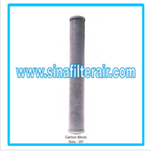 Filter Catridge Carbon Block size 20″