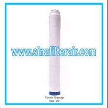 Filter Catridge Carbon Granular size 20″