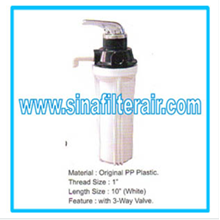 Filter Housing Original PP Plastic 1″ 3-Way Valve