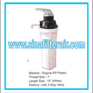 Filter Housing Original PP Plastic 1″ 3-Way Valve