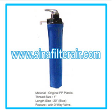 Filter Housing Original PP Plastic Thread 1″