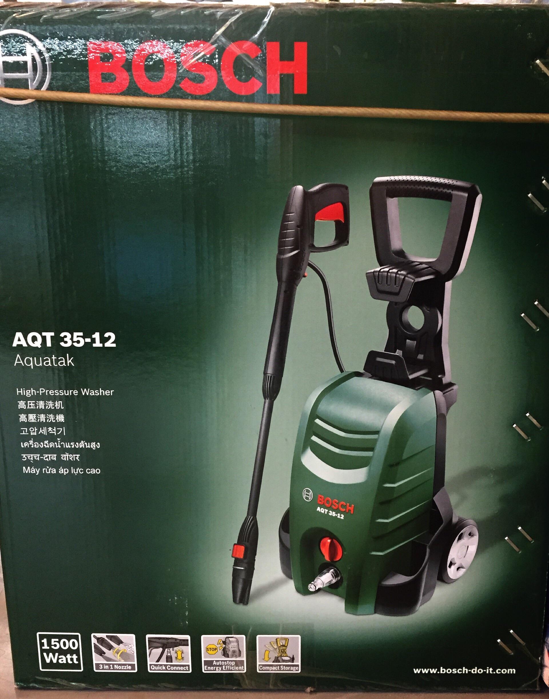 Bosch Pressure Washer Aqt 35 12 Alat Pembersih High Cleaner Listrik Ghp 5 14 Jual