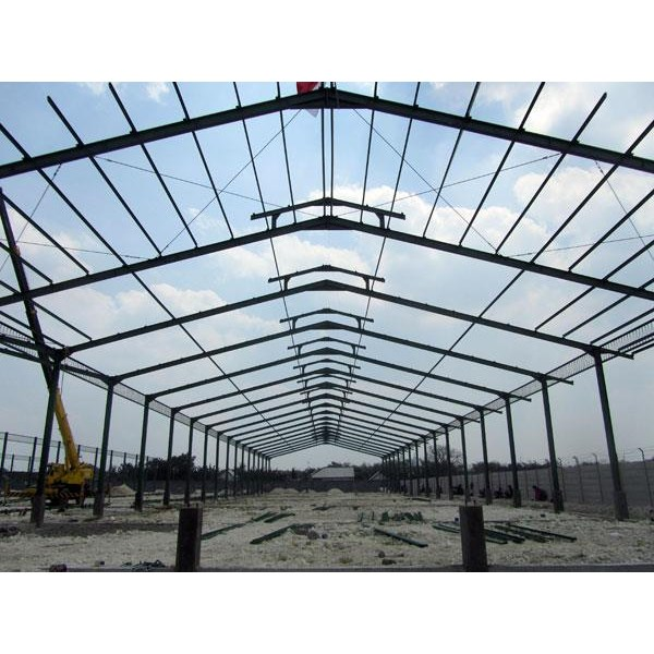 Kontruksi: Steel Construction For Factories And Warehouses Services