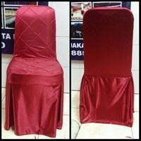Sarung kursi Futura warna merah 1