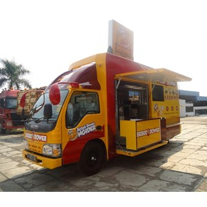 Sell Food Truck From Indonesia By PT Delimajaya KaroseriCheap Price