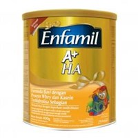 Jual Enfamil A+ HA Plain 400Gr Tin